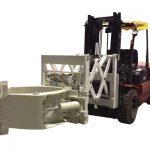Телескопічні кріплення шин для навантажувачів