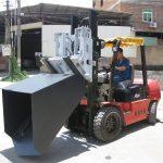 3-тонне кріплення для навантажувачів Hyundai Diesel для вилочного навісу та відро