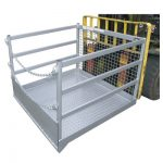 WP-GC18 хороше кріплення клітки для навантажувача